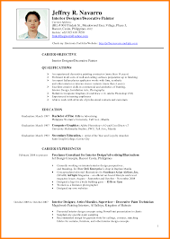 Resume Example Philippines Resume Ixiplay Free Resume Samples