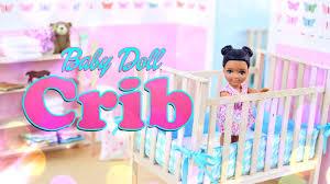 DIY How to Make Baby Doll Crib Handmade Furniture Craft