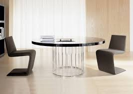 furniture modern large dining table contemporary round