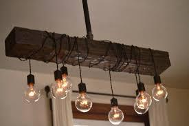 wood chandelier diy