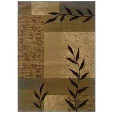 oriental weavers richmond area rug rugs the home depot beige compressed