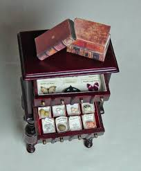 miniatures dollhouse furniture. small darwinian victorian collection display filled 4 drawer bespaq cabinet 7800 via etsy doll house miniaturesdollhouse furnituredoll miniatures dollhouse furniture i