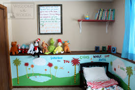 Diy kids room Shelf Kids Room Inspired By Childrens Book Author Dr Seuss Amazing Diy Projects In This Welcome To The Woods Dr Seuss Kids Room Welcome To The Woods