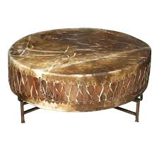 copper drum table coffee hammered s australia