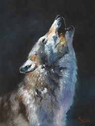 wolf howling. Simple Wolf S1468D  Sweet Eric Wolf Howling In O