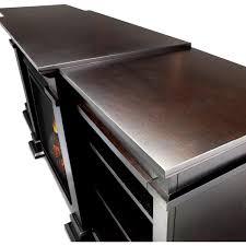 real flame fresno 71 inch electric fireplace entertainment center dark walnut g1200e dw gas log guys