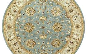 9 ft round rug foot beautiful mystic spa x area black