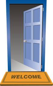 Decorating front door clipart pictures : Open door clipart – Gclipart.com