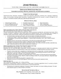 Skill Resume Credit Analyst Resume Sample Sample Resume For