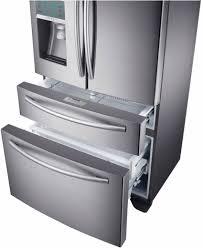 samsung refrigerator drawer. Beautiful Samsung RF24FSEDBSR Samsung 24 Cu Ft Counter Depth 4Door Refrigerator With  FlexZone Drawer  Stainless Steel In G