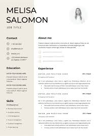 Professional And Creative Microsoft Word Resume Templates That Are