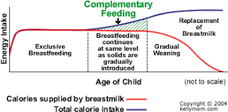 How Much Breastmilk For Newborn Chart How Do We Get Started With Solids Kellymom Com