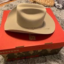 Stetson D4 Ranch 5x Tan Cowboy Hat Nwt