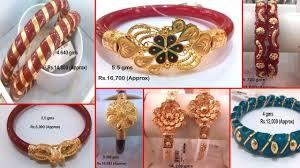 Bengali Gold Shakha Design Latest 22k New Bengali Gold Shakha Pola Bangle Designs With Weight Price