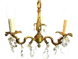 vintage french chandelier lovely pint sized vintage french chandelier xv style rewired candlestick in the library