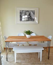 Against The Wall Dining Table Inside Out Design Final House Tour