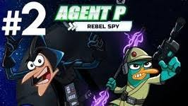 phineas and ferb games agent p rebel spy disney xd