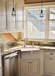 Corner Kitchen Sink Cabinet Kitchen Trendy Corner Kitchen Sink Within Kitchen Corner Sink