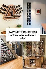 Wine Cabinet Design Ideas 26 Wine Storage Ideas For Those Who Dont Have A Cellar