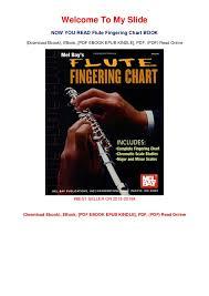 Flute Chart Pdf B O O K Flute Fingering Chart Download Pdf