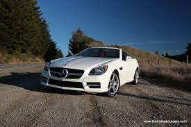 The slk350's cabin is all high rent as long as you don't look skyward. Review 2012 Mercedes Slk350 Convertible The Truth About Cars