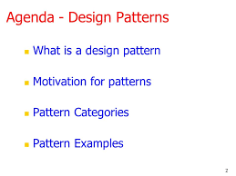 What Is Design Pattern Extraordinary Design Patterns Ppt Download