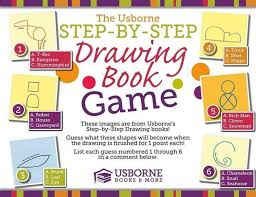 28 collection of usborne drawing game