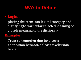 definition essay writing 3 way to define