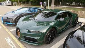 The british racing green with black wheels brown interior and the number 16 on the grill just make it look. The Bugatti Revue 24 2 Molsheim Festival 110 Years Bugatti 2019 At Bugatti Sas