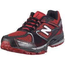 new balance trail running shoes. amazon.com   new balance men\u0027s mt876 trail runner, red/black, 10 d running shoes