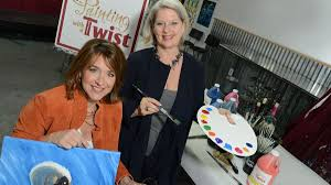hurricane katrina inspired these two women to create painting with a twist bizwomen