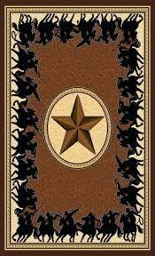 texas star rug star western lodge chocolate area rug texas star cowhide rugs
