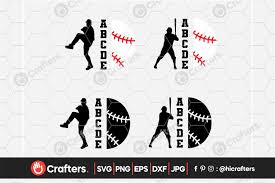 Are you searching for hockey png images or vector? Baseball Player Softball Player Shirt Graphic By Hicrafters Creative Fabrica