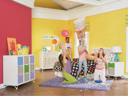 Rasta Bedroom Decor Colorful Girls Bedroom Paint Color Idea With Orange And Red Wall