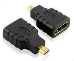 <b>HDMI Female to Micro</b> HDMI Male Adapter Connector HD TV DVD ...