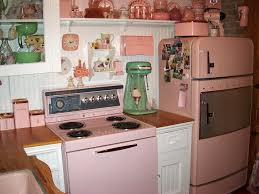 Retro Kitchen Appliances This Little Kitchen Is Decorated With Some Retro Appliances As