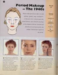 1940 s make up style for the las the league of heroes the original ics
