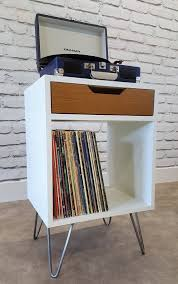 furniture turntable stand. modern nightstand record player stand bedside by sawoodworking mehr furniture turntable d
