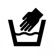 洗濯の手洗いのシルエット02 無料のaipng白黒シルエットイラスト