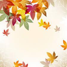 theme. Autumn Beautiful Leaves Theme Background Vector E