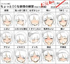 Collection Of Anime Expressions Drawing Download More