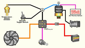 how to wire an electric fan an ac trinary switch how to wire an electric fan an ac trinary switch