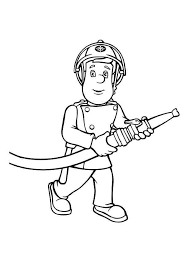 Killer Fireman Sam Coloring Pages Simplesnackstop
