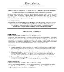 ... Administrative Resume Sample for ucwords]