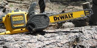 dewalt 60v chainsaw. the dewalt 60v chainsaw \u2013 leave gas can at home dewalt o