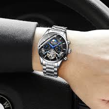 <b>HAIQIN men's</b>/<b>mens watches</b> top brand luxury automatic/mechanical ...