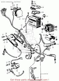 Honda cb77 super hawk 1961 usa wire harness battery schematic