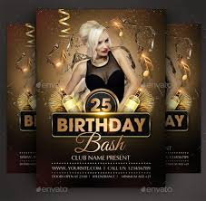 Birthday Flyers Birthday Party Brochure Template Tadlifecare Com