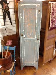 Shabby Chic Rustic Pantry Linen Cabinet Home Tall Kitchen