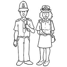 top  free printable community helpers coloring pages onlinethe police
